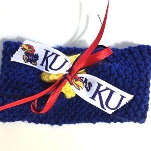 University Of Kansas JAYHAWKS Baby Headband